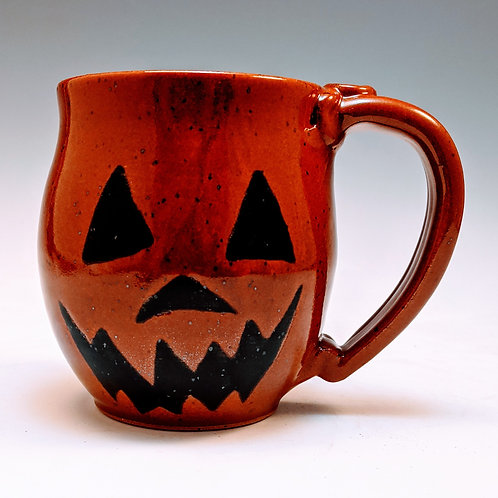 Jack-o'-lantern (sold - now made to order, about 3 weeks)