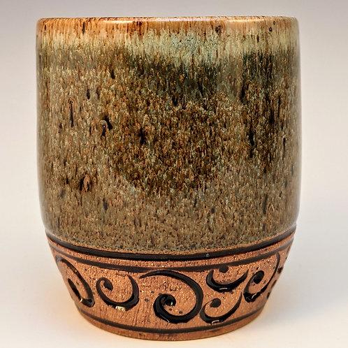Spiral mini cup