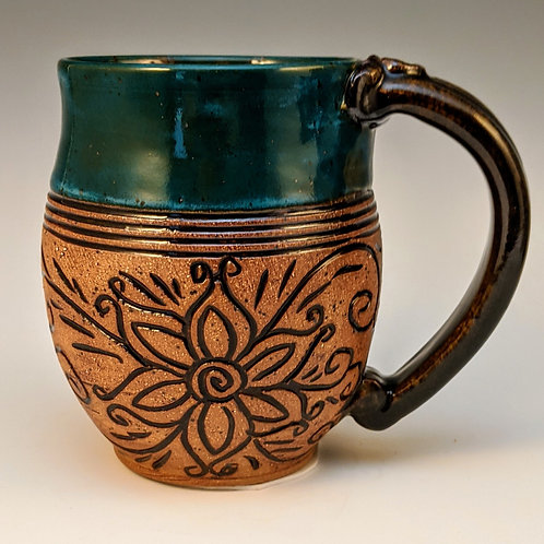 Mendi mug In power turquoise