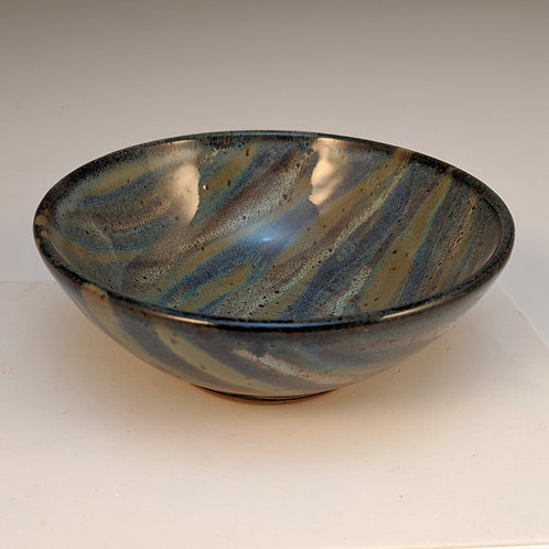 Blue mix cereal bowl