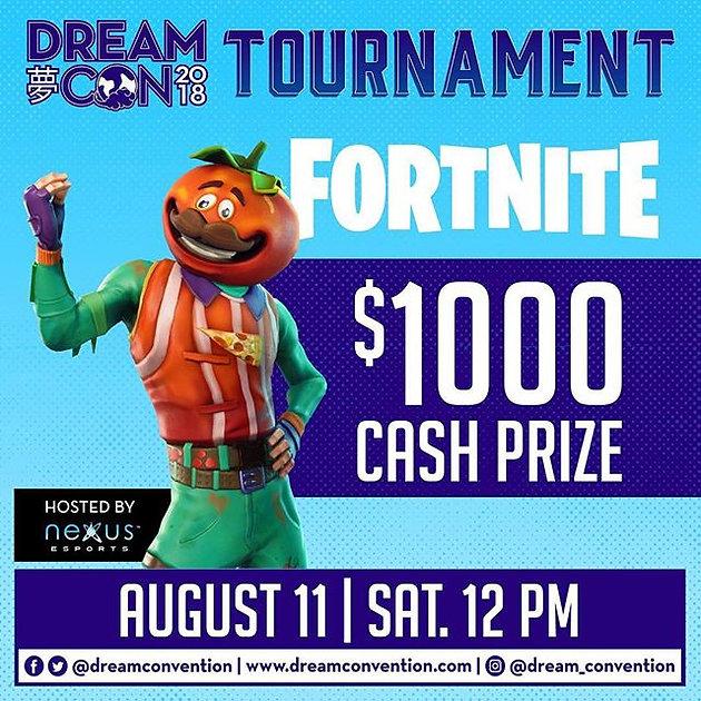 Fortnite Tournament! Grand Prize $1,000!