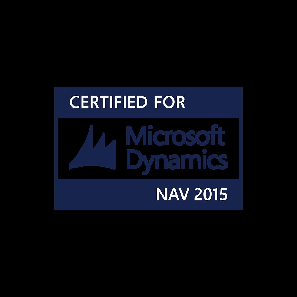 Certified Microsoft Dynamics logo