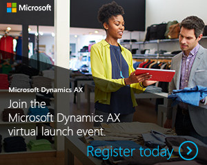 The New Microsoft Dynamics AX (AX7) – Join the launch event!