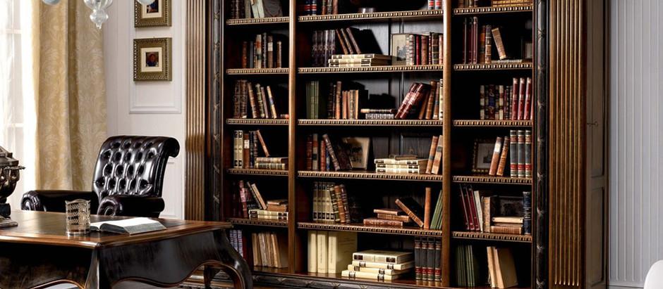 Популярные стили домашних библиотек
