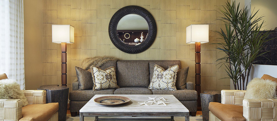 Виды расстановки мебели из массива в гостиной