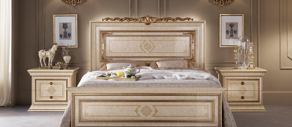 Популярные стили спален из массива