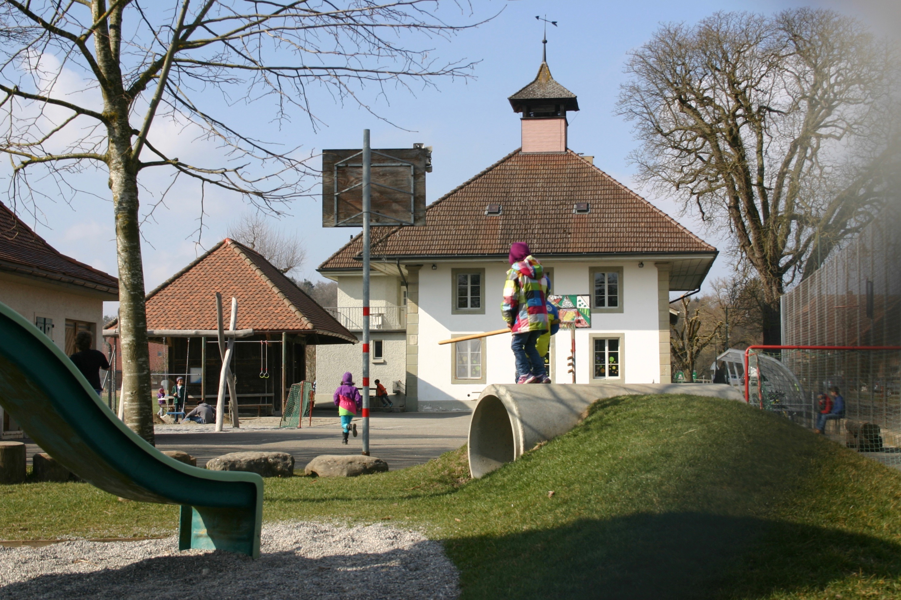 Schulhaus Kriechenwil
