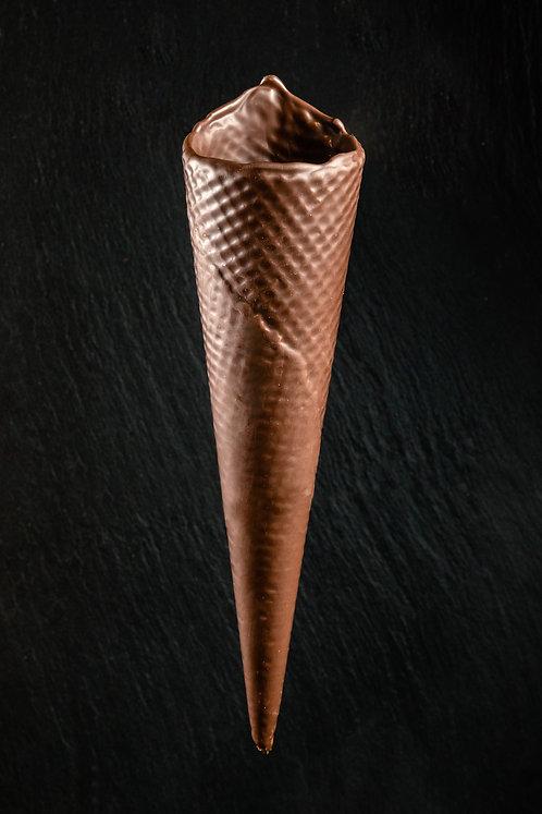 Barquillo artesano chocolate negro nº 40