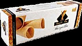 Barquillo artesano premium   nº 40  caja 6 unidades