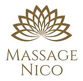 Brown Venn Diagram Massage Logo centered