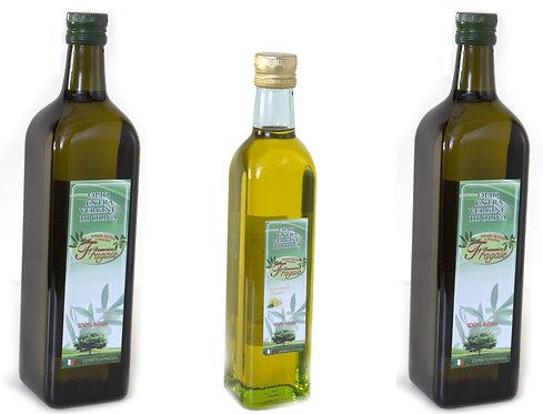 Pacchetto  al Limone | 2 Bottiglie di Olio Extravergine d'Oliva + 1 al Limone