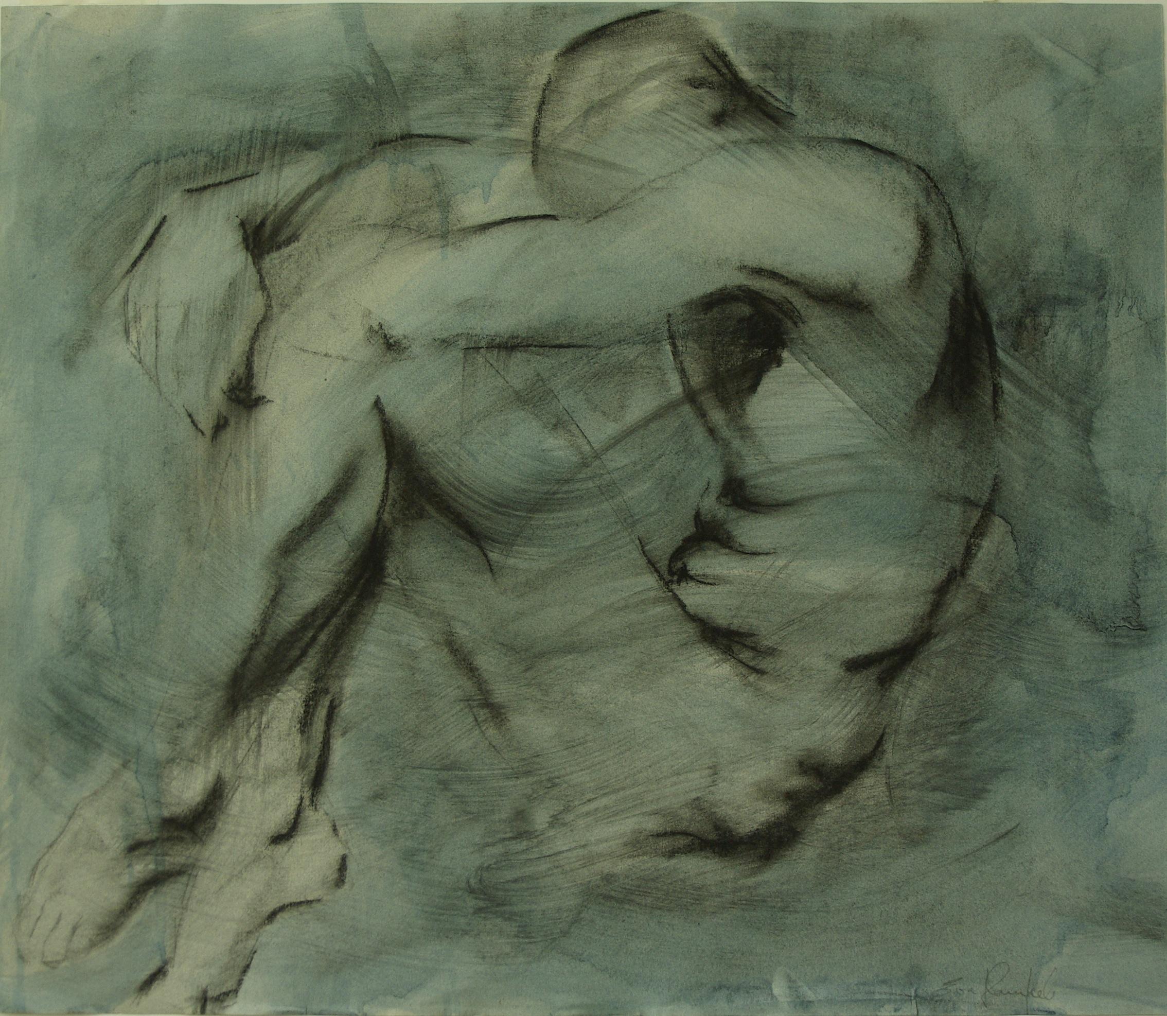 8. Blue Nude (sketch) 2007 copy