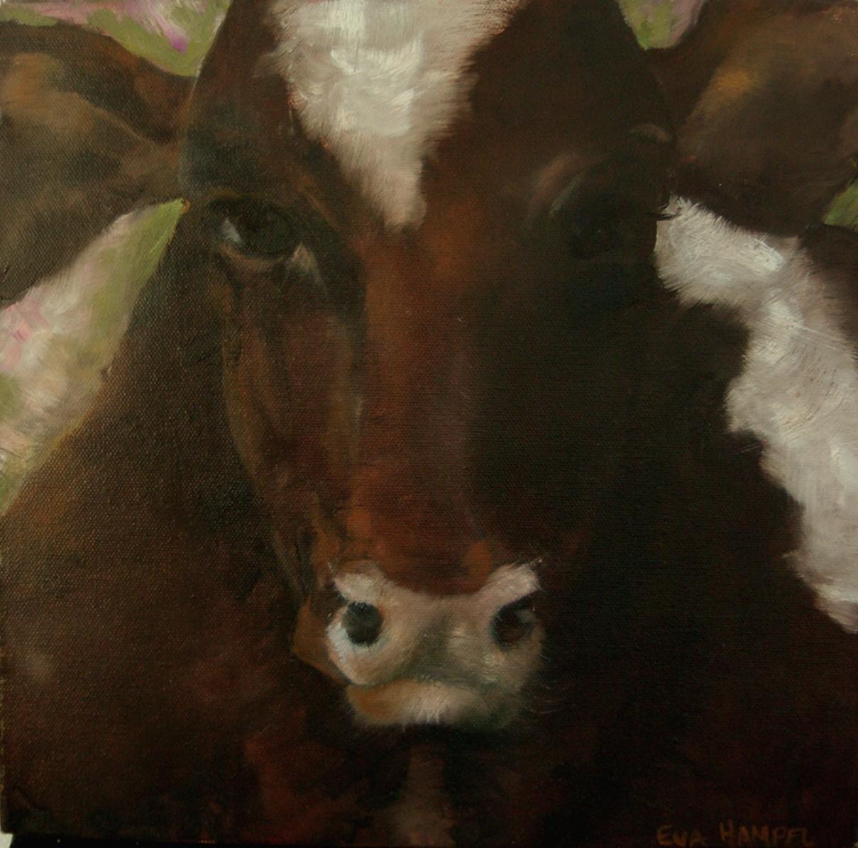 Brown Cow (My friend Rosa) 2008