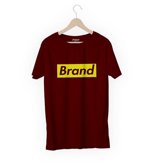 Brand Half Sleeves Round Neck 100% Cotton Tees