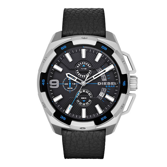 Diesel Heavyweight Analog Black Dial Men's Watch - DZ4392