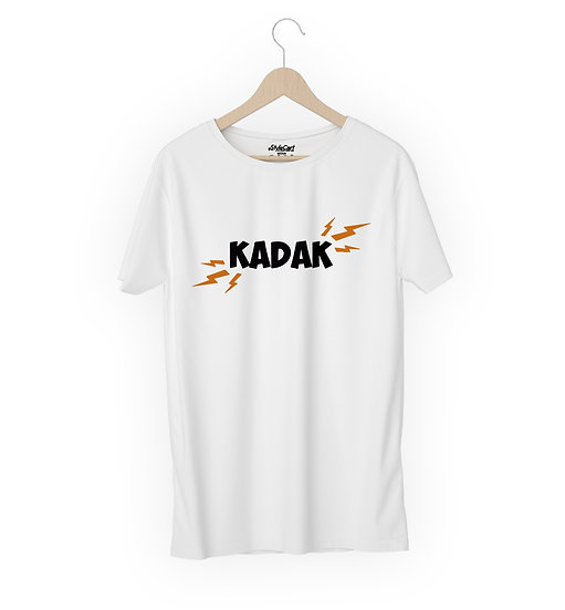 Kadak Half Sleeves Round Neck 100% Cotton Tees