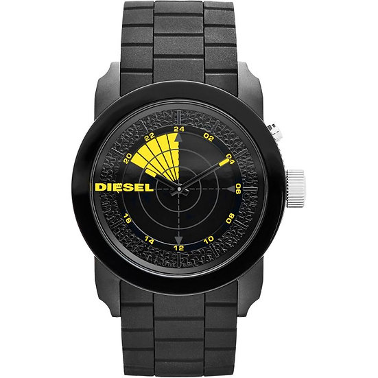 Diesel Double Down Analog Black Dial Men's Watch - DZ1605