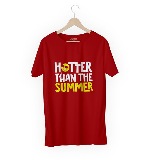 Whatsup Haters! Half Sleeves Round Neck 100% Cotton Tees