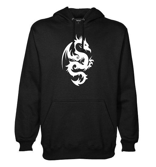 Big Dragon Printed Designed Cotton Hoodie or Sweatshirts for Men