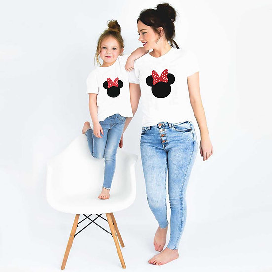 Minnie Mouse (Combo of 2 T-shirts)