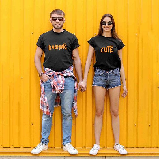 Dashing And Cute (Combo of 2 T-shirts)