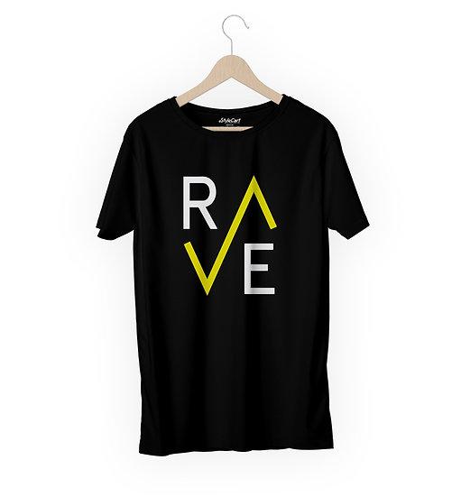Rave New Half Sleeves Round Neck 100% Cotton Tees