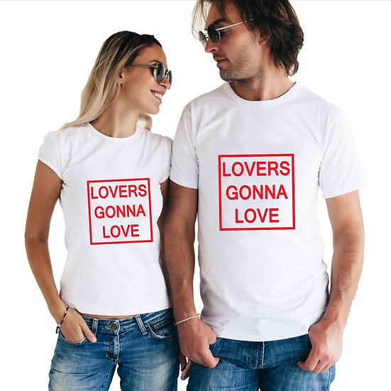 Lover Gonna Love (Combo of 2 T-shirts)