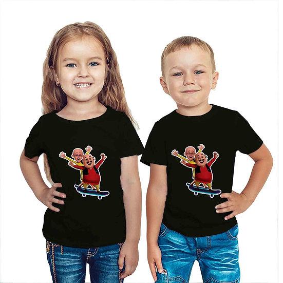Motu Patlu (Combo of 2 T-shirts)