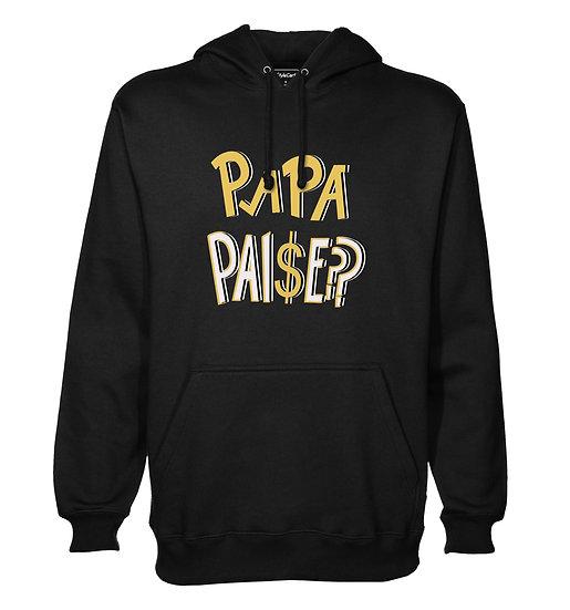 Papa Paise Printed Designed Cotton Hoodie or Sweatshirts for Men