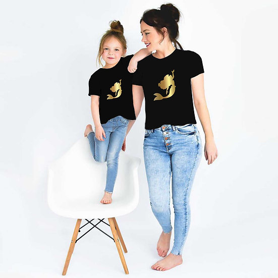 Mermaid (Combo of 2 T-shirts)