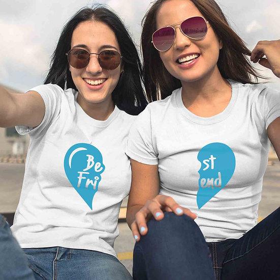 Best Friend Heart (Combo of 2 T-shirts)