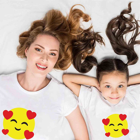 Love Emoji (Combo of 2 T-shirts)
