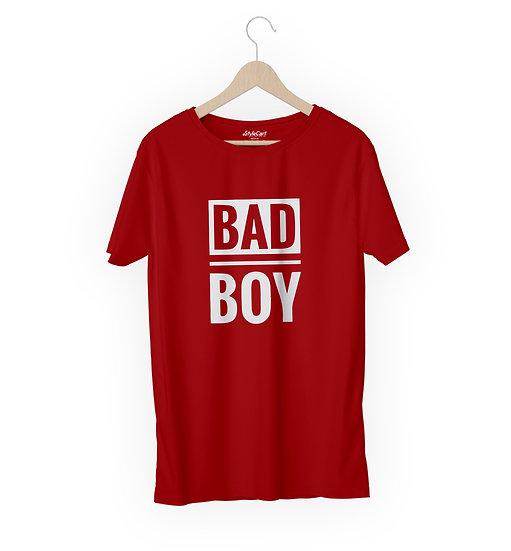 Bad Boy Half Sleeves Round Neck 100% Cotton Tees