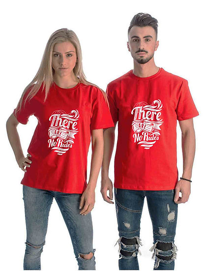 There Are No Rules (Combo of 2 T-shirts)