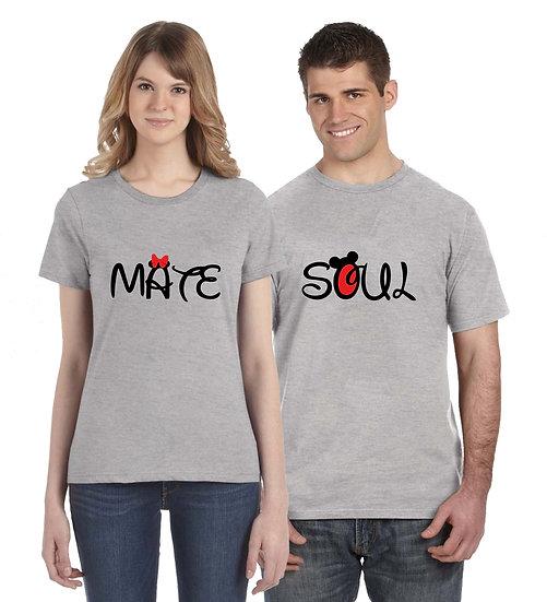 Soul Mate (Combo of 2 T-shirts)