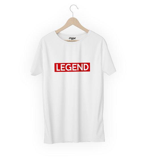 Legend Half Sleeves Round Neck 100% Cotton Tees