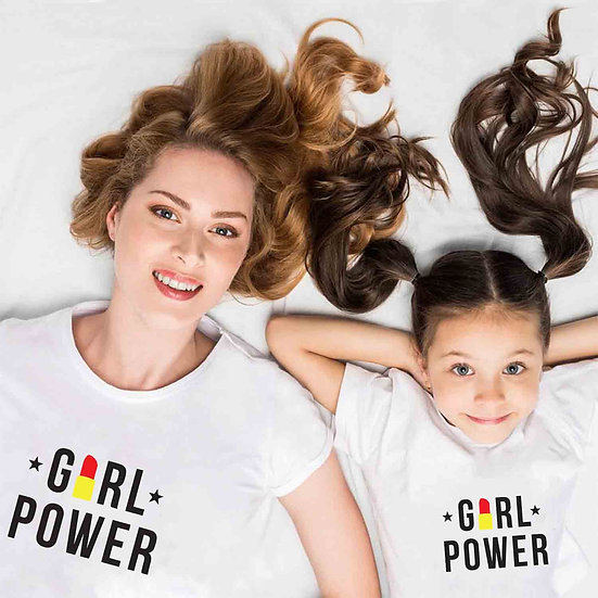 Girl Power (Combo of 2 T-shirts)