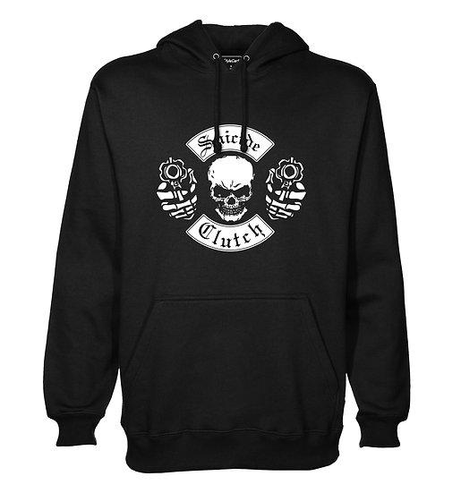 Skull Suicide Clutch Printed Designed Cotton Hoodie or Sweatshirts for Men