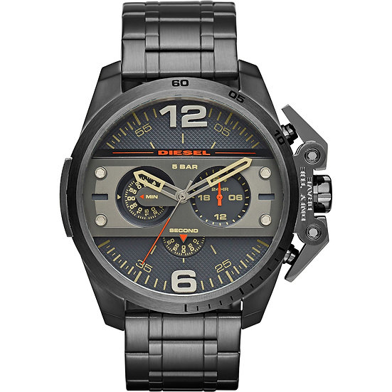 Diesel Ironside Analog Gunmetal Dial Men's Watch - DZ4363
