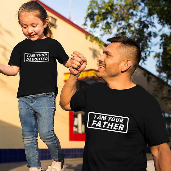 I Am Your Father And I Am Your Daughter (Combo of 2 T-shirts)