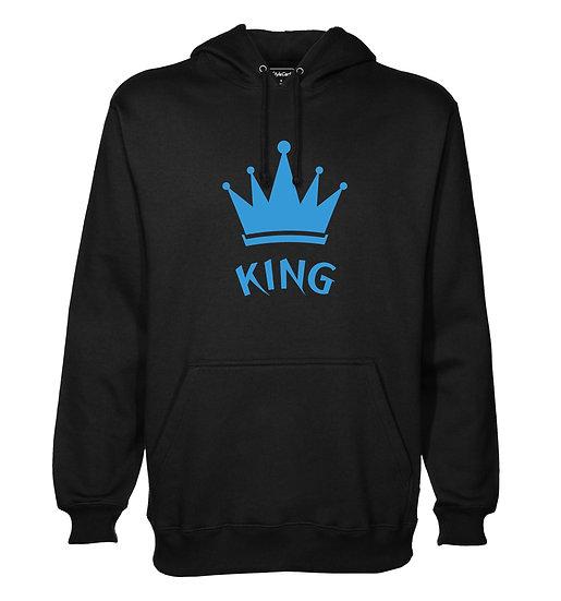 King Printed Designed Cotton Hoodie or Sweatshirts for Men