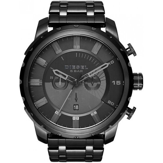 Diesel Stronghold Analog Black Dial Men's Watch - DZ4349