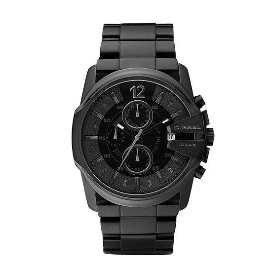 Diesel Master Chief Analog Black Dial Men's Watch - DZ4180