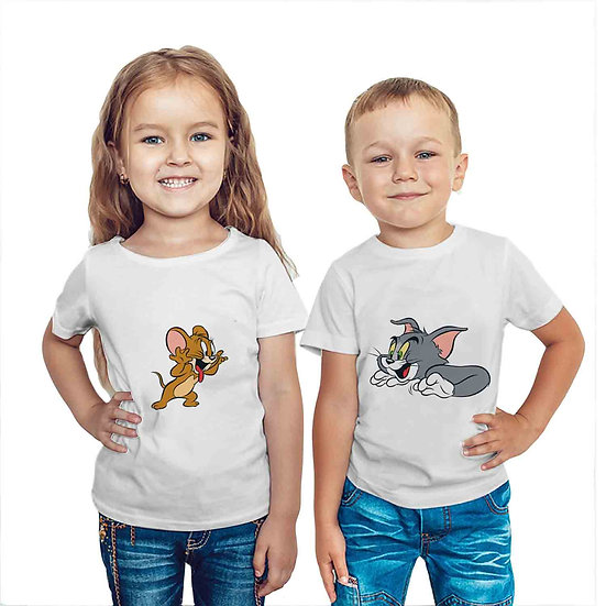 Tom & Jerry (Combo of 2 T-shirts)