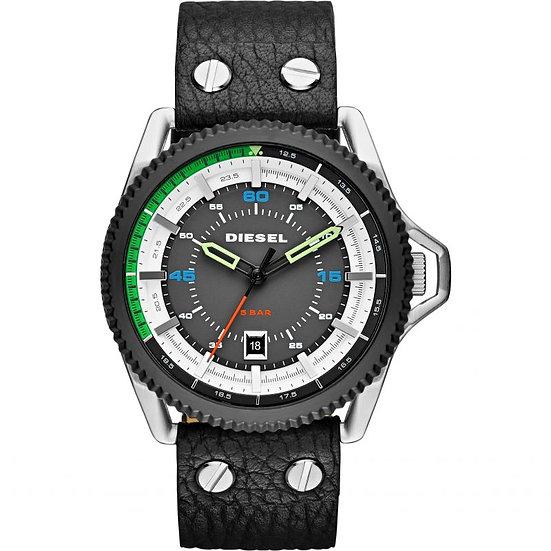 Diesel Rollcage Analog Black Dial Men's Watch - DZ1717