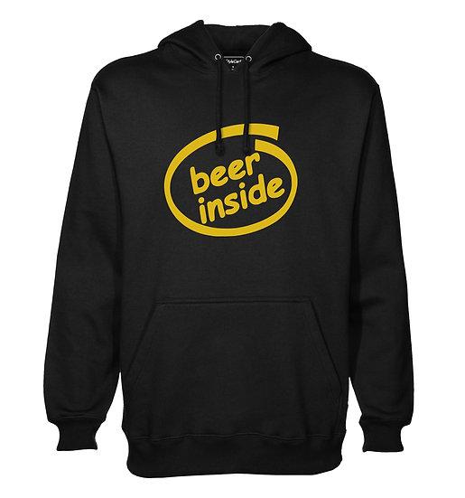 Beer Insde Printed Designed Cotton Hoodie or Sweatshirts for Men