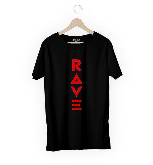 Rave Half Sleeves Round Neck 100% Cotton Tees