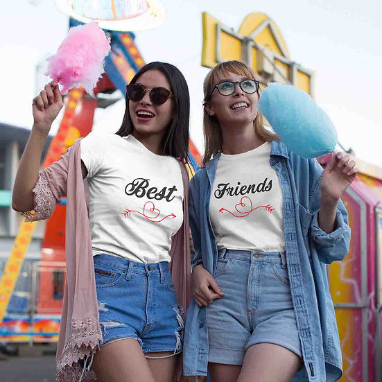 Best Friends (Combo of 2 T-shirts)