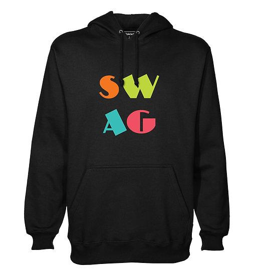 Swag Printed Designed Cotton Hoodie or Sweatshirts for Men