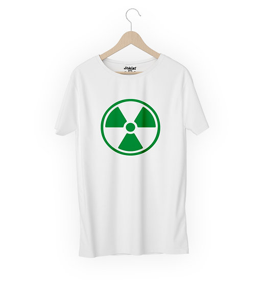 Hulk Radiation Half Sleeves Round Neck 100% Cotton Tees